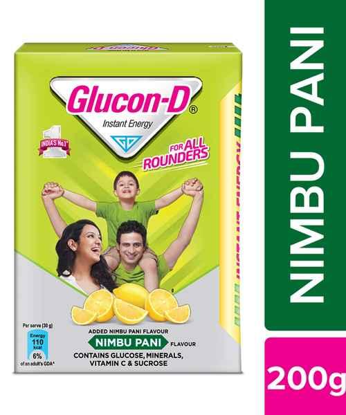 GLUCON-D NIMBOO PANI 200GM