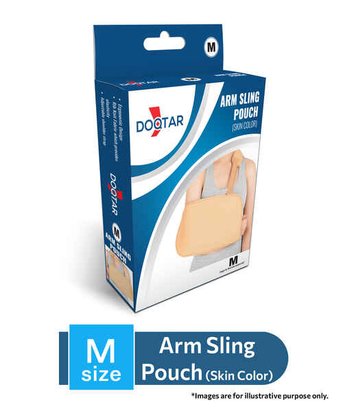 DOQTAR DELUXE ARM SLING POUCH -MEDIUM
