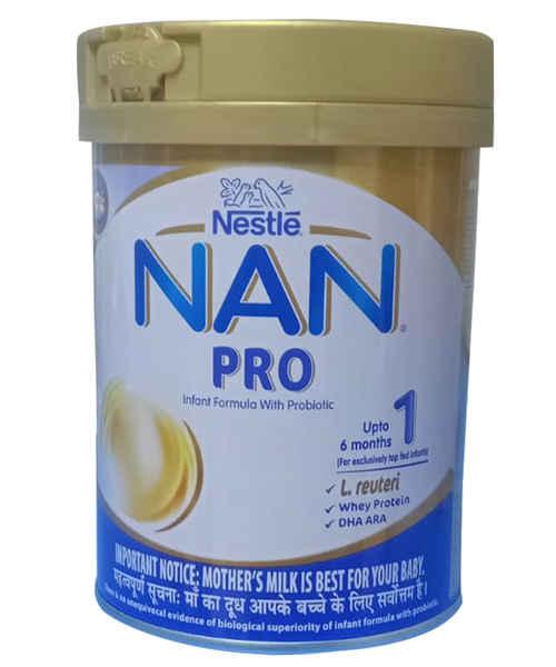 NESTLE NAN PRO 1 INFANT FORMULA POWDER TIN 400GM