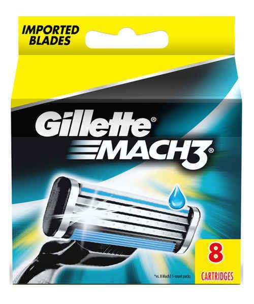 GILLETTE MACH3 BLADE REFILLS 6S + 2S