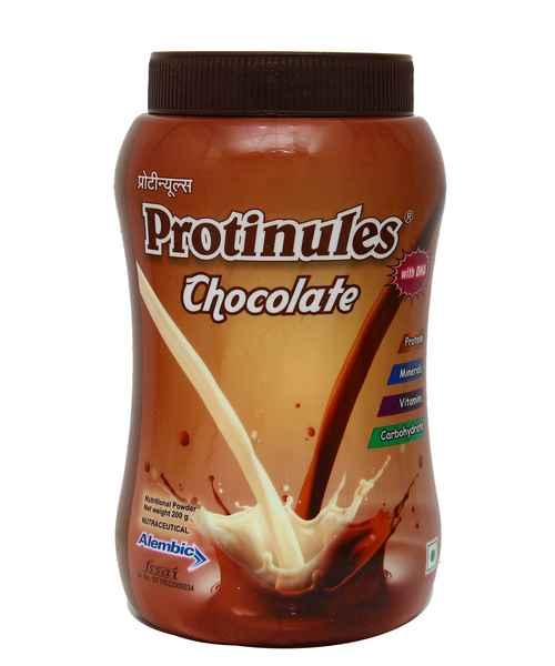 PROTINULES CHOCOLATE 200GM POWDER