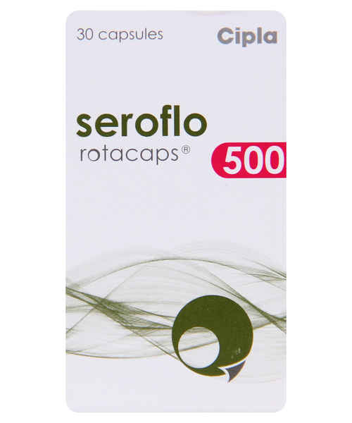 SEROFLO 500 30S ROTACAPS