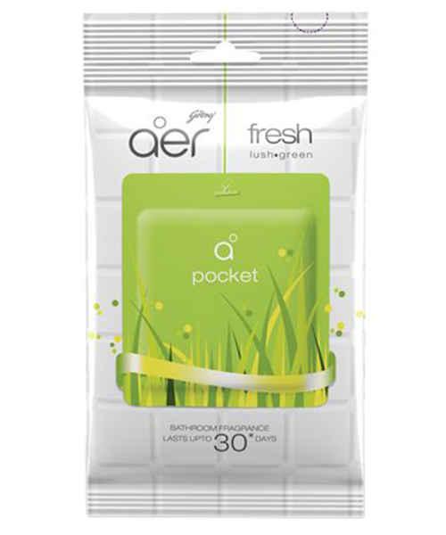 AER POCKET BATHROOM FRAGRANCE FRESH LUSH GREEN 10GM