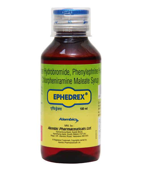 EPHEDREX 100ML SYP