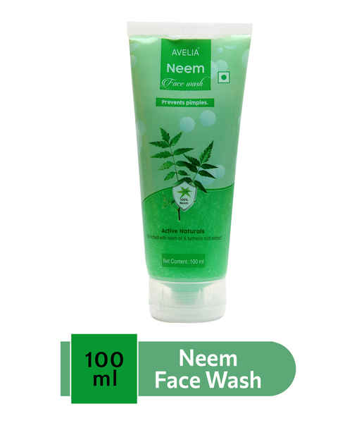 AVELIA NEEM FACEWASH 100ML
