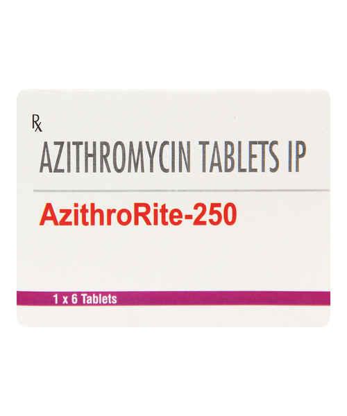 AZITHRORITE 250MG TAB