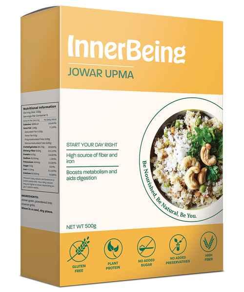 INNERBEING JOWAR UPMA 500GM BOX