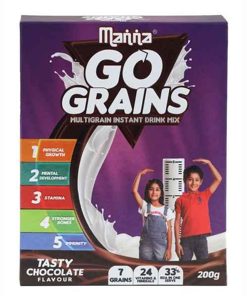 MANNA MANNA GO GRAINS 200GM