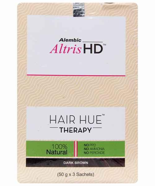 ALTRIS HD HAIR HUE THERAPY DARK BROWN KIT