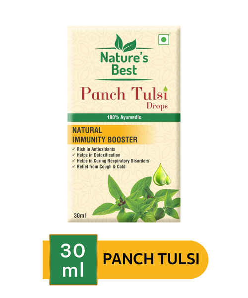 NATURES BEST PANCH TULSI 30ML DROPS
