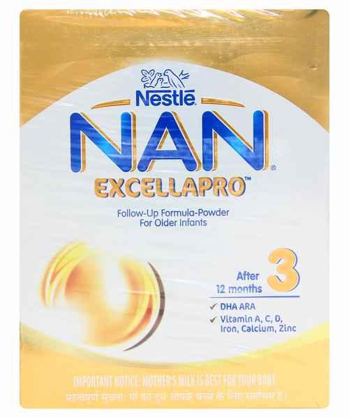 NESTLE NAN EXCELLA PRO 3 BIB 400GM