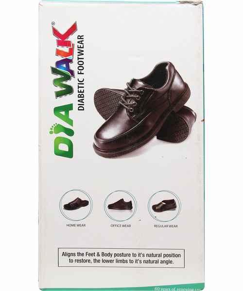 DIAWALK DIABETIC GENTS FOOT WEAR  0234 SIZE 9