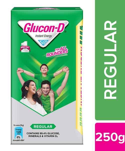 GLUCON D REGULAR 250GM REFILL