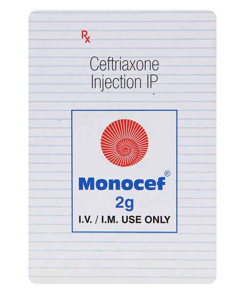 MONOCEF 2GM INJ