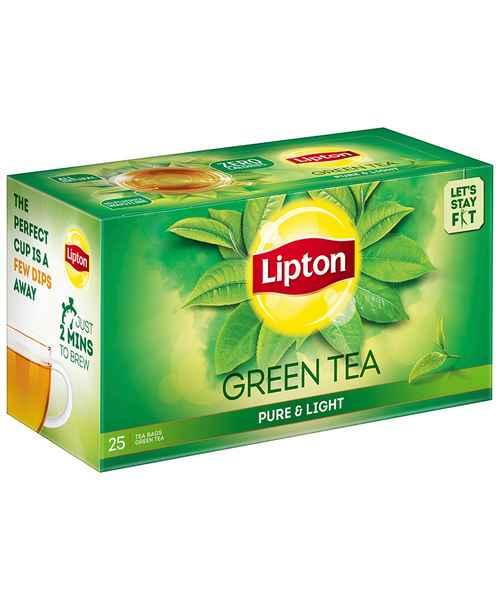 LIPTON GREEN TEA PURE&LIGHT 25S TEA BAGS