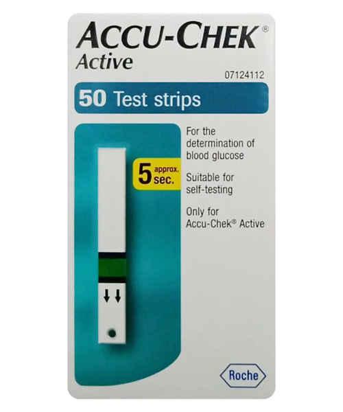 ACCUCHEK ACTIVE STRIPS 50S