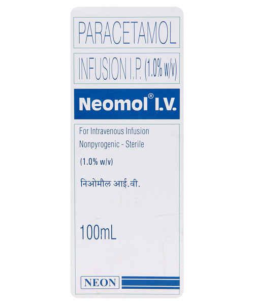 NEOMOL 100ML IV