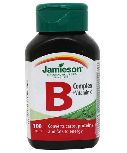 JAMIESON B COMPLEX + VITAMIN C 100S CAP