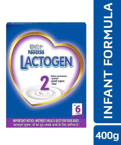 LACTOGEN 2 FOLLOW-UP INFANT FORMULA POWDER 400GM