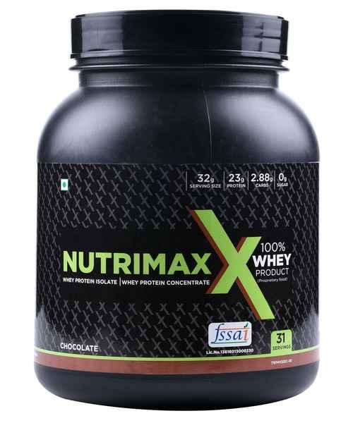 NUTRIMAXX 100% WHEY PROTEIN 1 KG CHOCOLATE