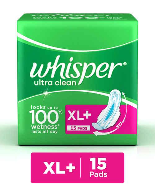 WHISPER ULTRA CLEAN XL + WINGS 15S