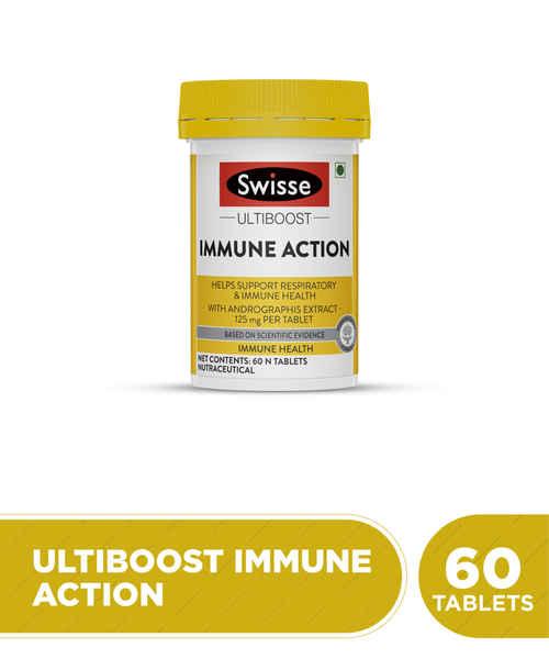 SWISSE ULTIBOOST IMMUNE ACTION- 60 TABLETS
