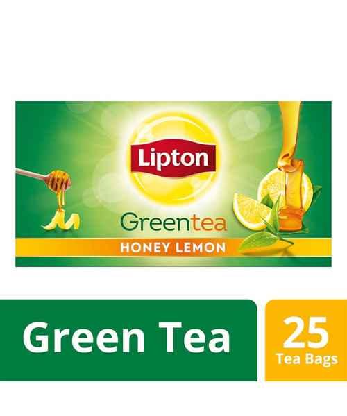 LIPTON GREEN TEA HONEY LEMON 25S TEA BAGS