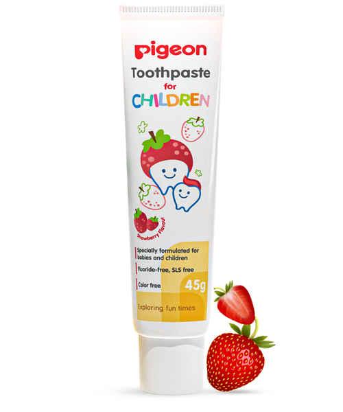 PIGEON CHILDREN TOOTHPASTE 45GM STRAWBERRY FLAVOUR