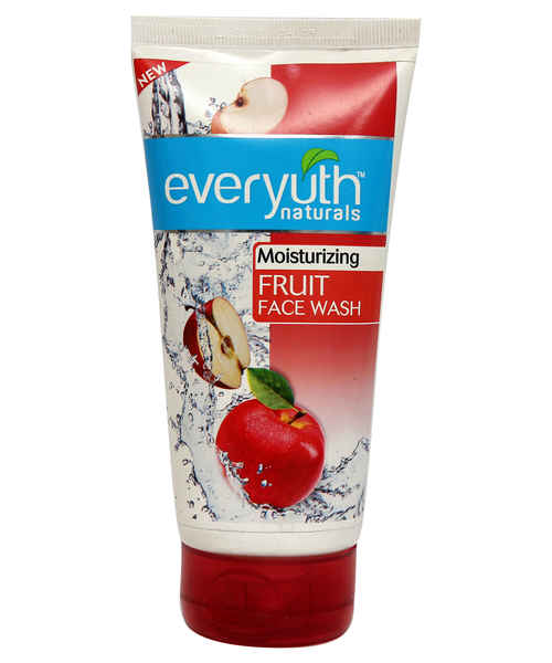 EVERYUTH NATURALS FRUIT FACE WASH 60ML