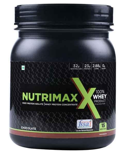 NUTRIMAXX 100% WHEY PROTEIN 0.5 KG CHOCOLATE