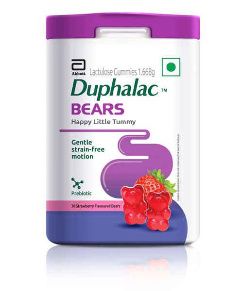 DUPHALAC BEARS STRAWBERRY FLAVOUR 30S