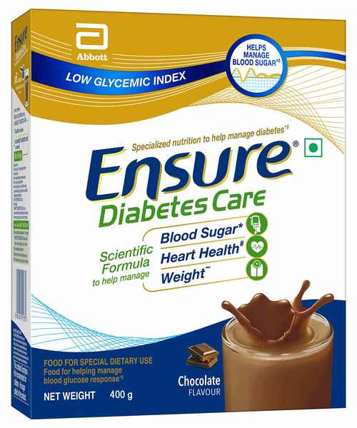 ENSURE DIABETES CARE CHOCOLATE 400GM BIB