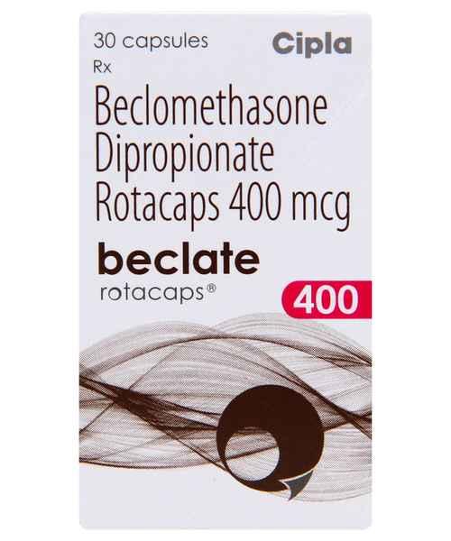 BECLATE 400 30S ROTACAPS