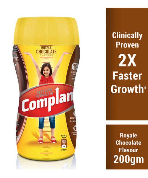 COMPLAN CHOCOLATE JAR 200GM