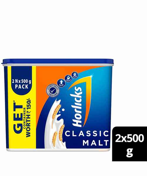 Horlicks  Promo Pack 500Gm X 2
