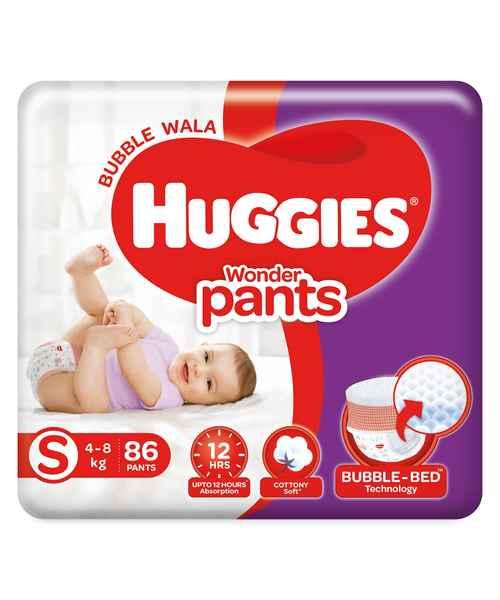HUGGIES WONDER PANTS S 86S