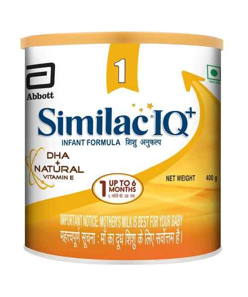 SIMILAC IQ+ STAGE 1 400GM TIN