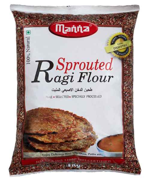 MANNA SPROUTED RAGI 1KG