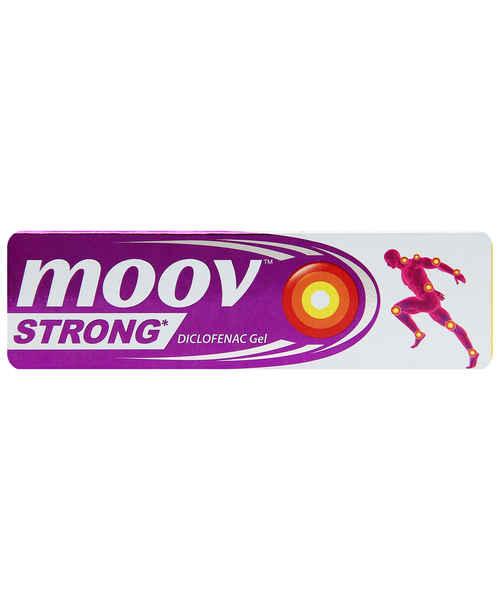 MOOV STRONG GEL 50GM PROMO (DETTOL ANTISEPTIC LIQUID 125ML FREE)