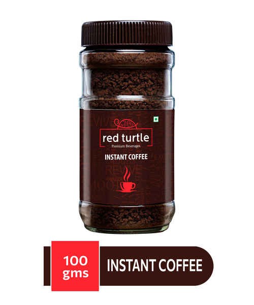 RED TURTLE INSTANT COFFEE 100GM JAR