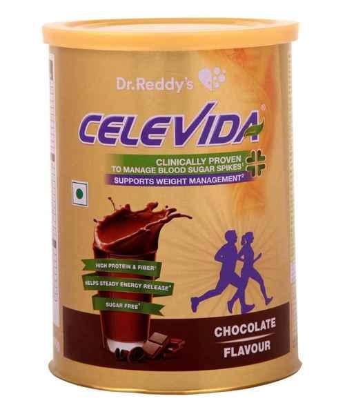 CELEVIDA CHOCOLATE 400GM POWDER