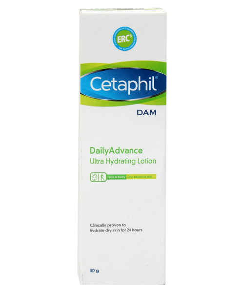 CETAPHIL DAM DAILY ADVANCE ULTRA HYDRATING LOTION 30GM