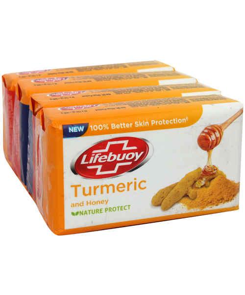LIFEBUOY SOAP TURMERIC 4X125GM