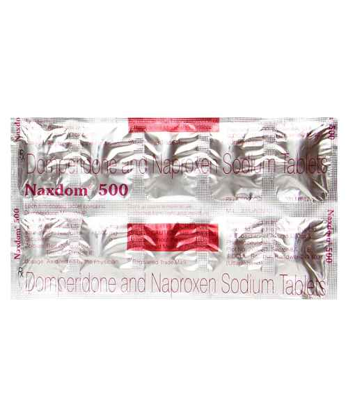 NAXDOM 500MG TAB