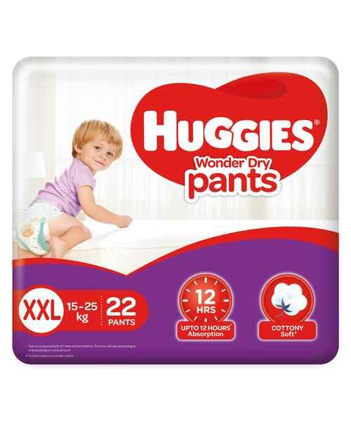 HUGGIES WONDER DRY PANTS XXL 22S