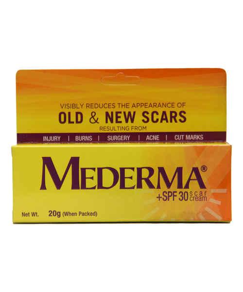 MEDERMA +SPF 30 SCAR CREAM 20GM