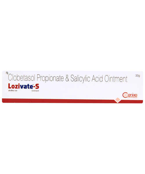 LOZIVATE S 30GM OINT