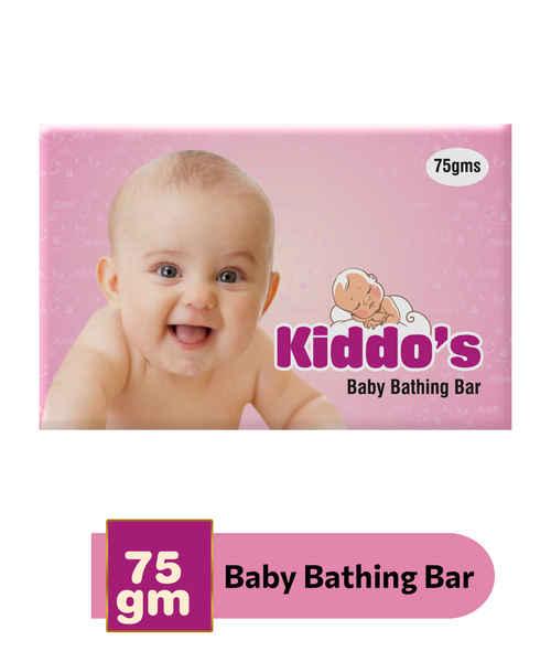 KIDDOS BABY BATHING BAR 75GM