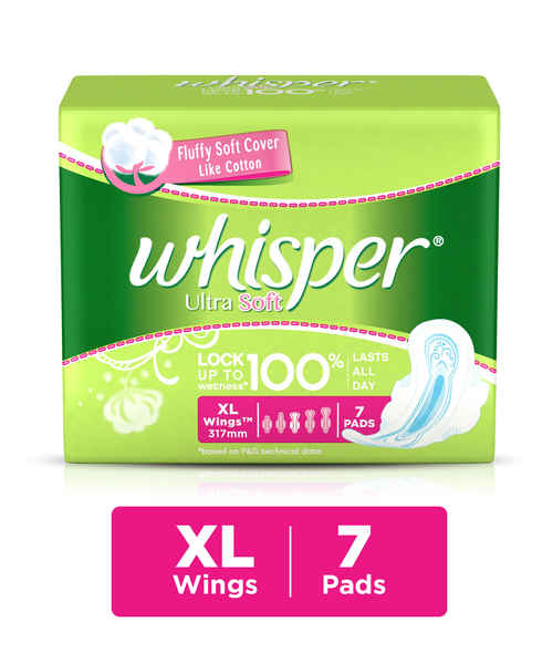 WHISPER ULTRA SOFT XL WINGS 7S PADS