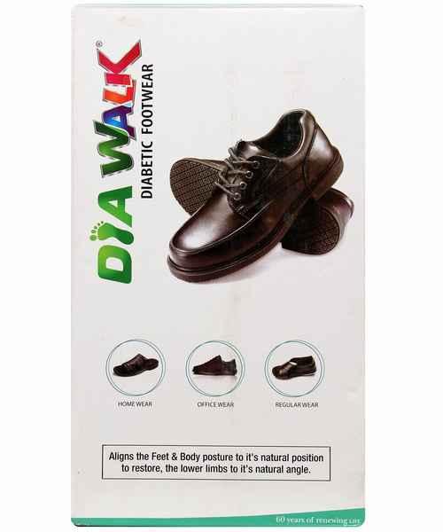 DIAWALK DIABETIC GENTS FOOT WEAR  0009 SIZE 7